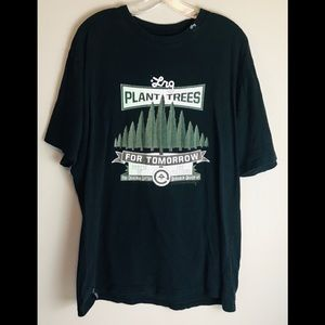 LRG Lifted Research Group Plant Trees Black Tshirt